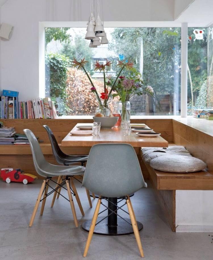 Banc de cuisine contemporain en 30 idées pour le coin repas!