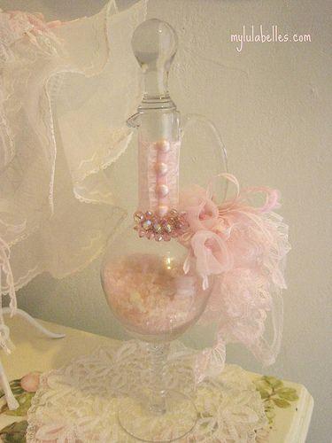 Victorian Bustle Bottle
