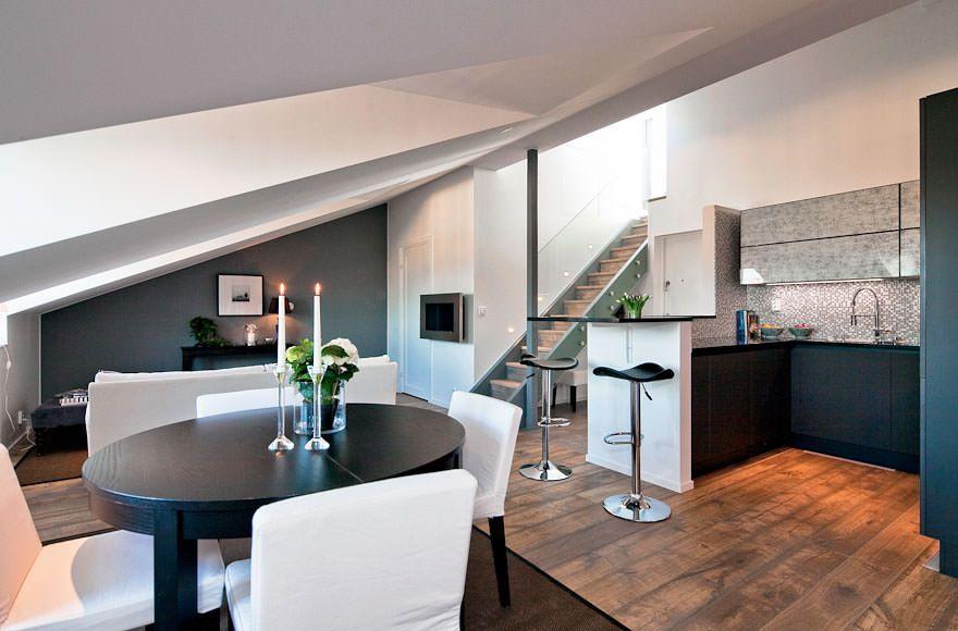 Skeppsholmen Fastighetsmäkleri Sothebys International Realty - Trendig vindsvåning på Östermalm