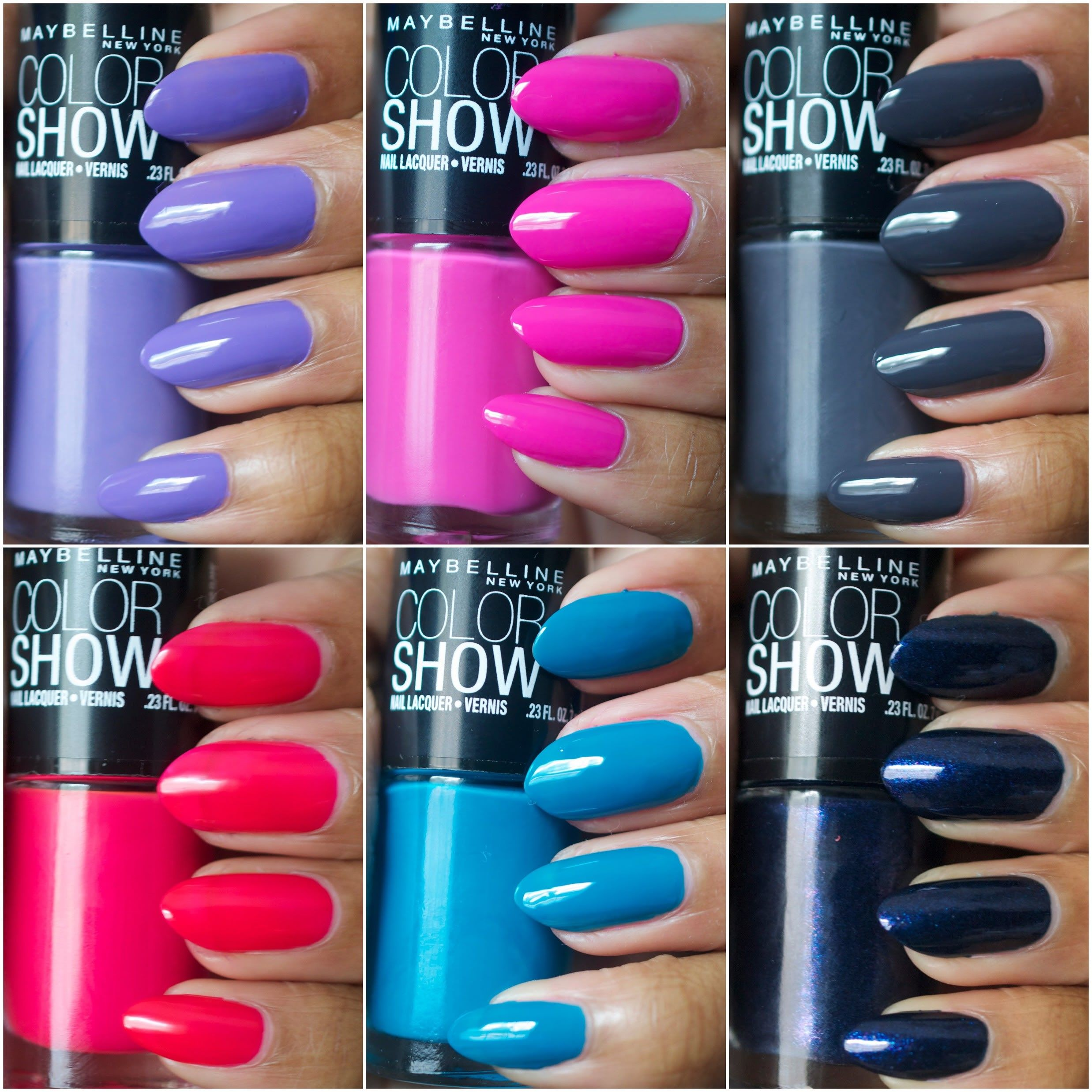 New York Summer Nail Polish: Amor De Lacquer: Maybelline Color Show Nail Polishes