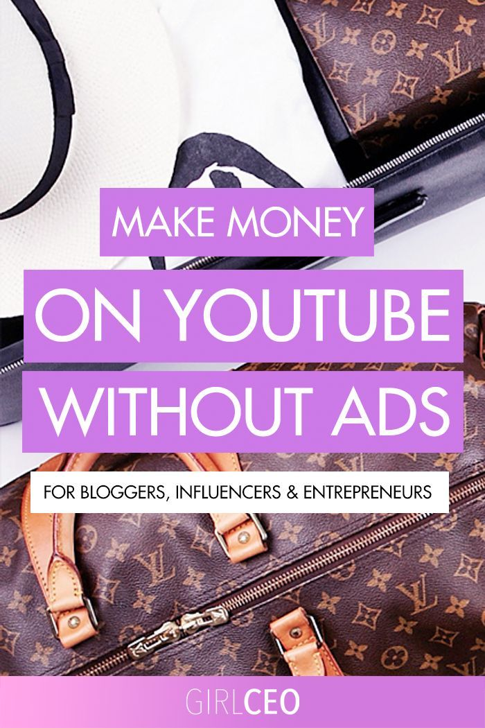 Make money on youtube without ads adsense or brand collabs how to make money on youtube without ads adsense small channel tips ccuart Images
