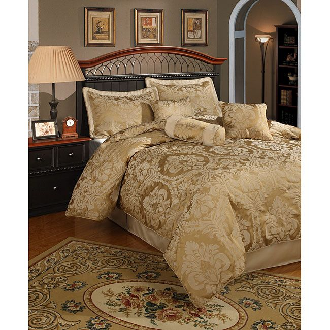 Overstock Com Online Shopping Bedding Furniture Electronics Jewelry Clothing More Gold Comforter Set Gold Comforter Comforter Sets
