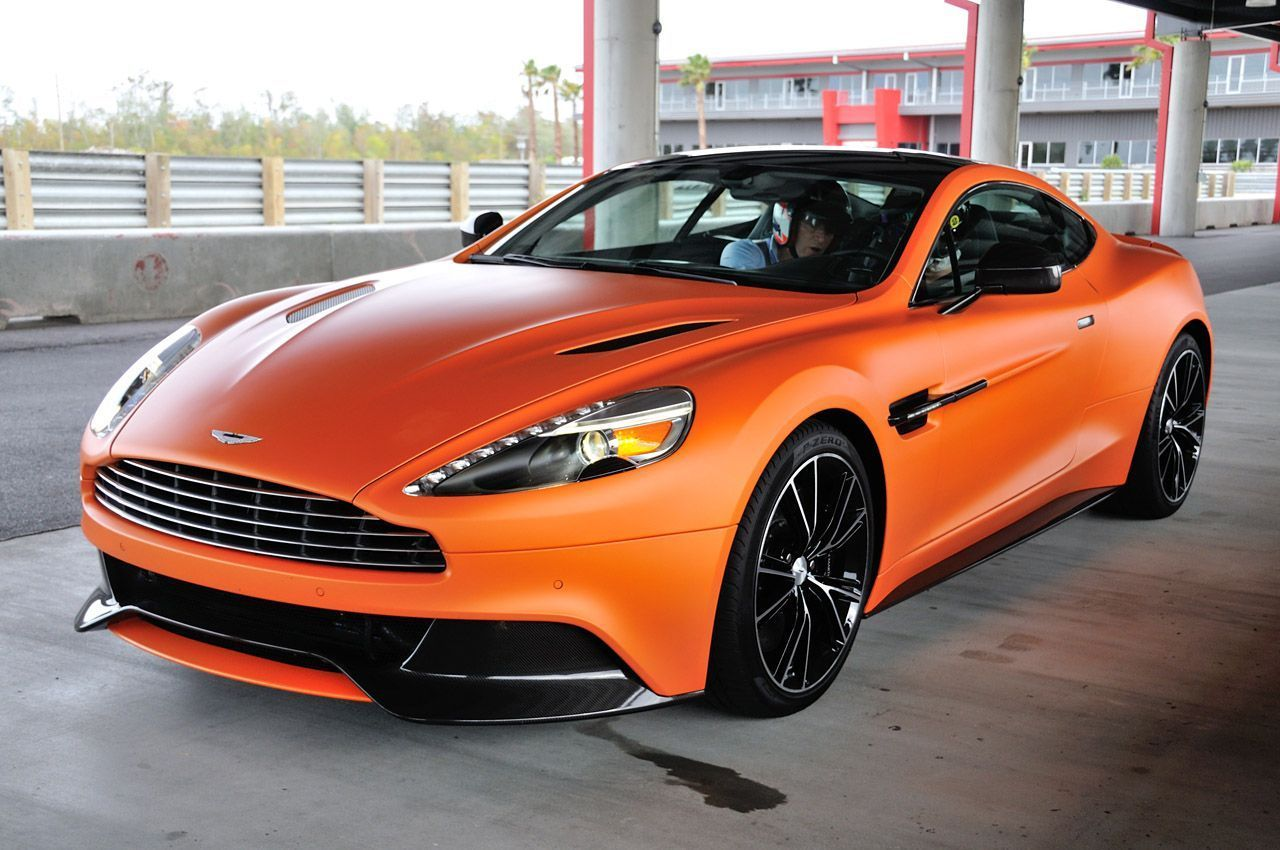 The only car that can pull off a matte orange paint job