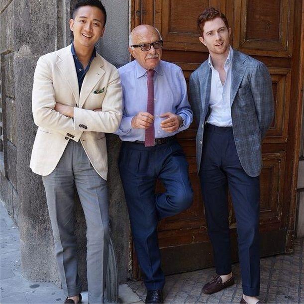 treviorum:  Alan See, Antonio Panico and Jake Grantham in Napoli.