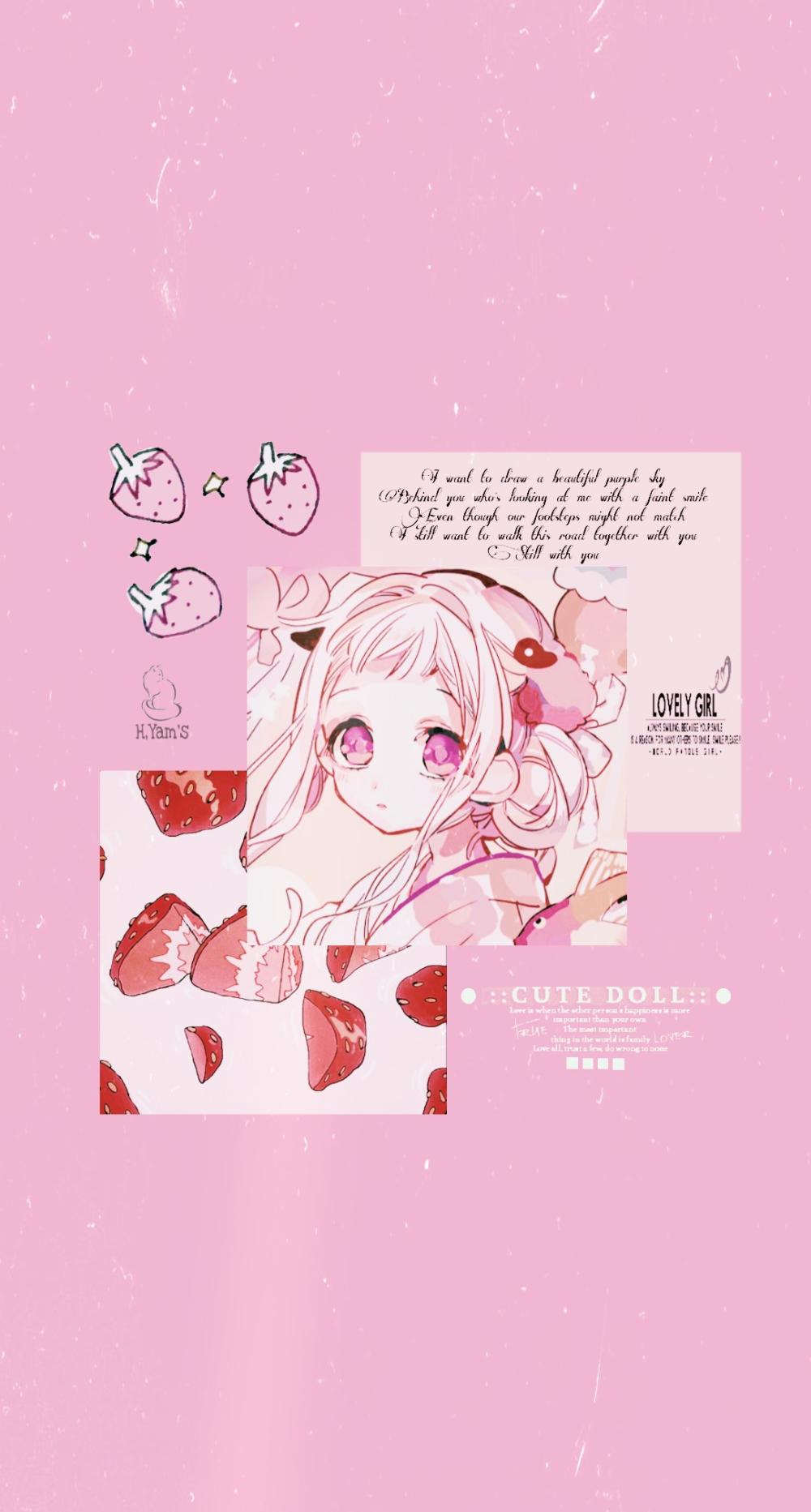 Liwliet On Twitter Pink Wallpaper Anime Cute Anime Wallpaper Anime Wallpaper
