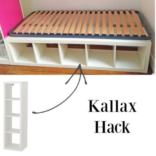 Brilliant Ikea Hacks for Kallax Shelf