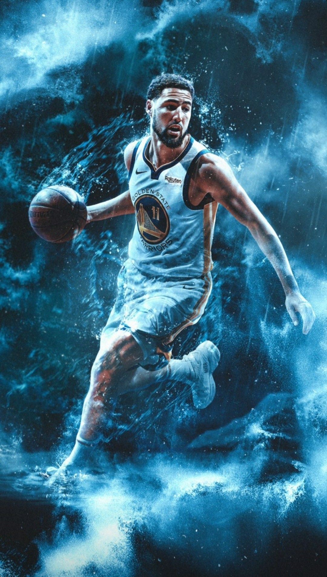 Klay Thompson Wallpaper In 2020 Klay Thompson Wallpaper Nba Pictures Klay Thompson