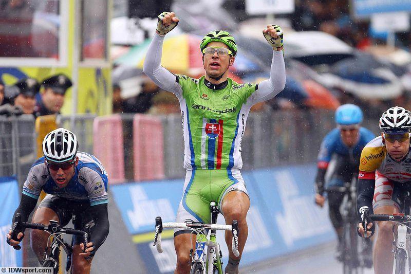 Tirreno-Adriatico - rit 3 - RS - Cycling: 48thTirreno Adriatico Stage 3 Arrival/ Peter SAGAN (Svk) Celebration Joie Vreugde/