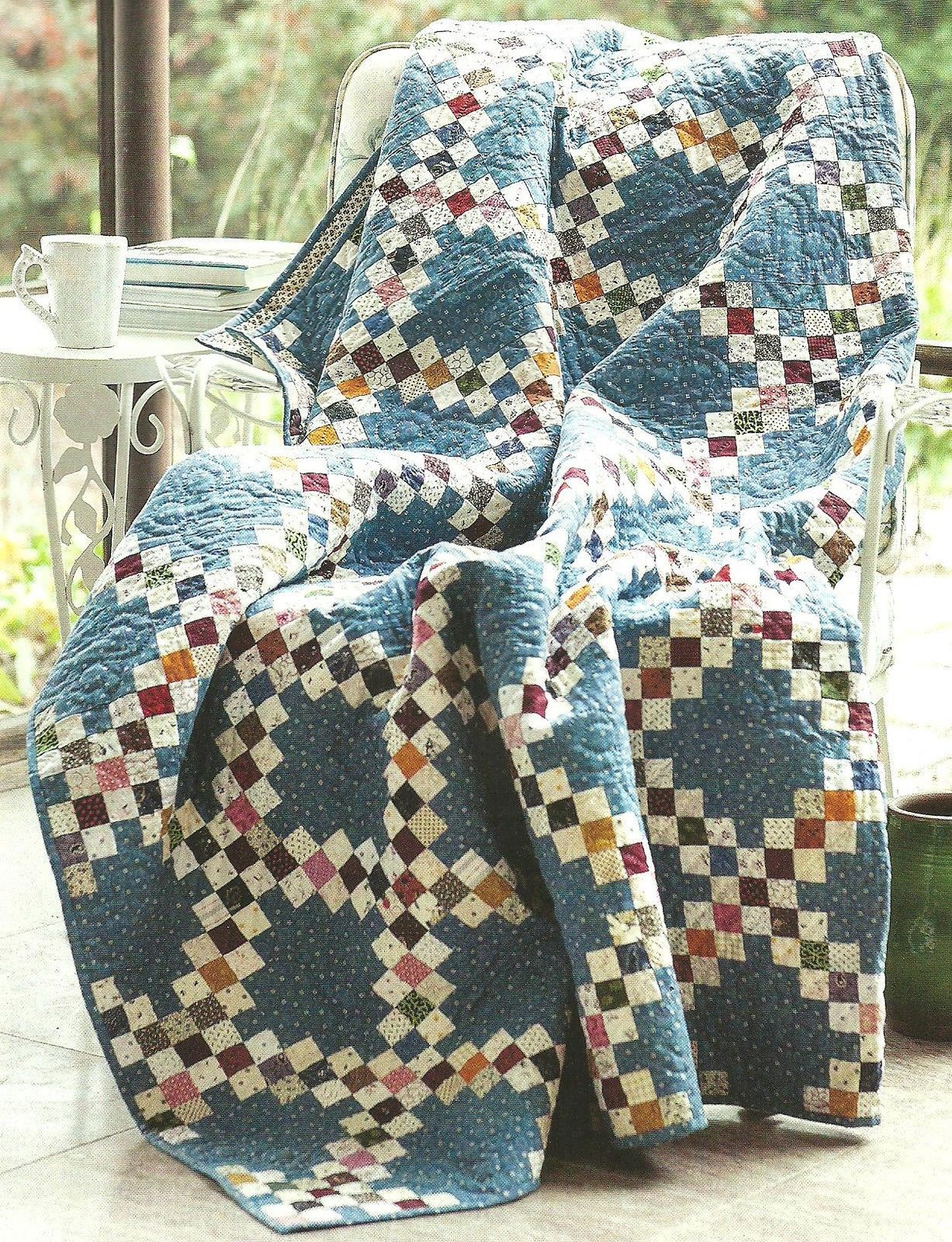 Sweet and simple Irish Chain , great colors. | Quilts | Pinterest ...
