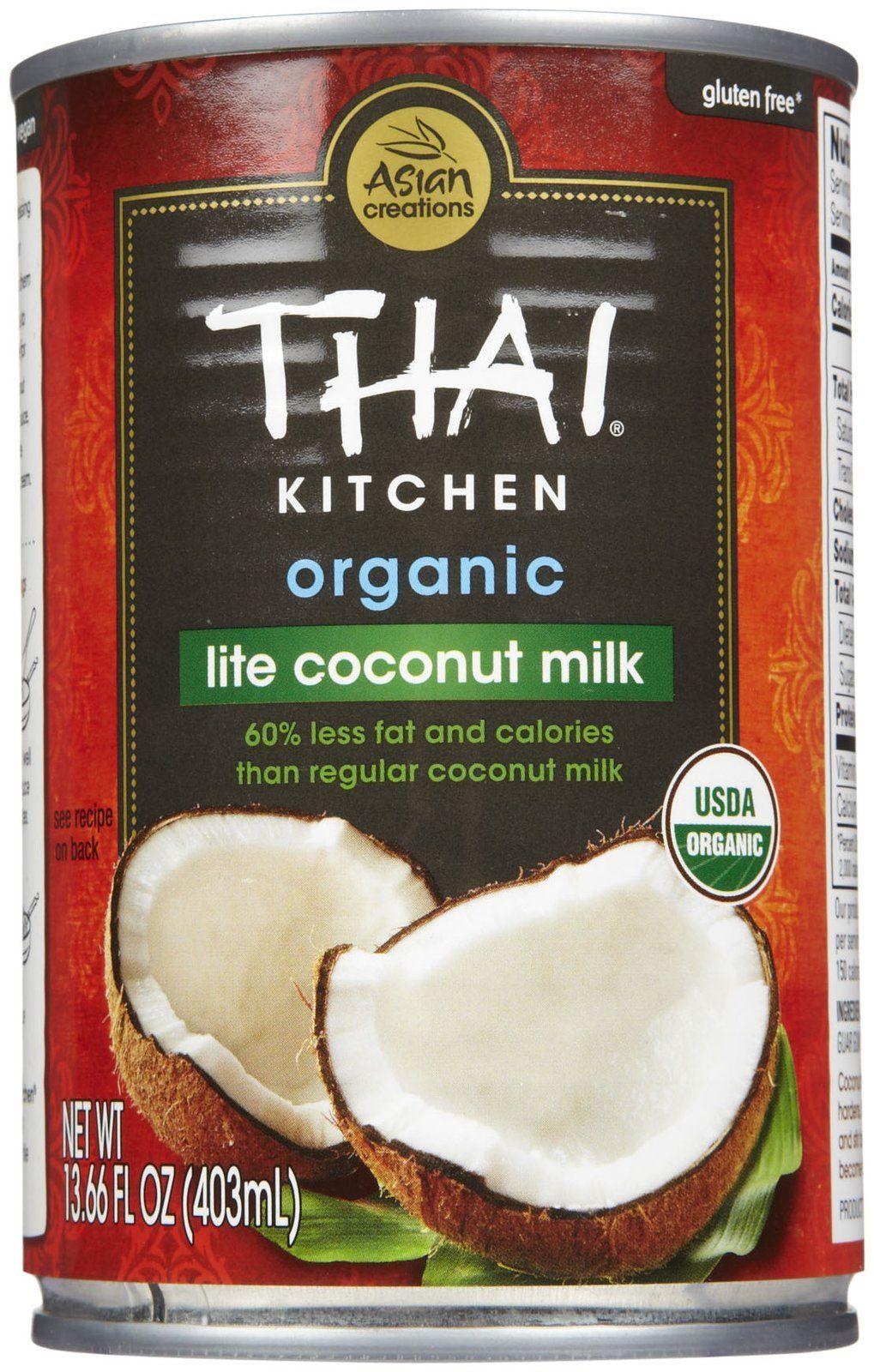 Thai Kitchen Organic Coconut Milk   Lite   13.66 Oz   3 Pk