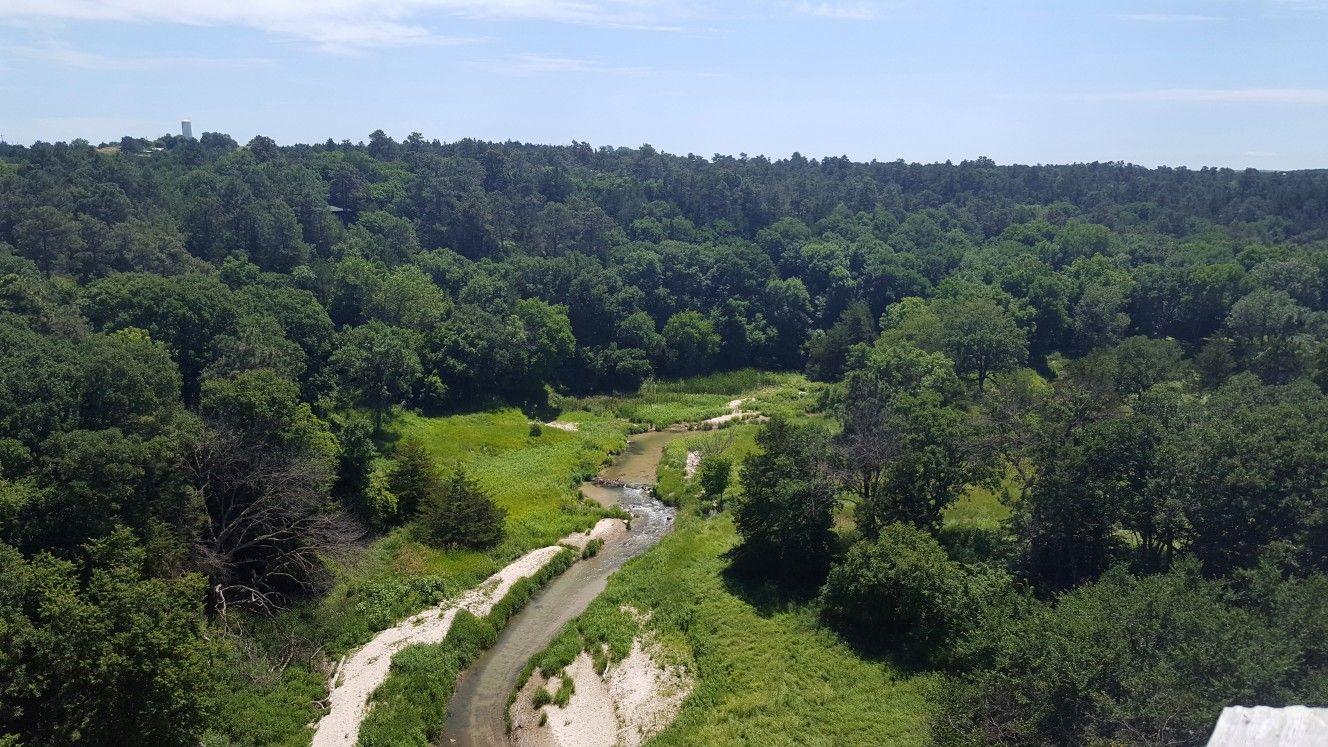 Cowboy Trail Bridge near Long Pine Country roads