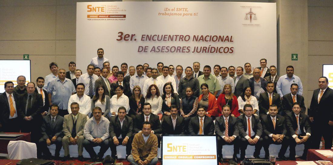 Abogados del SNTE se profesionalizan para una mejor defensa de los trabajadores