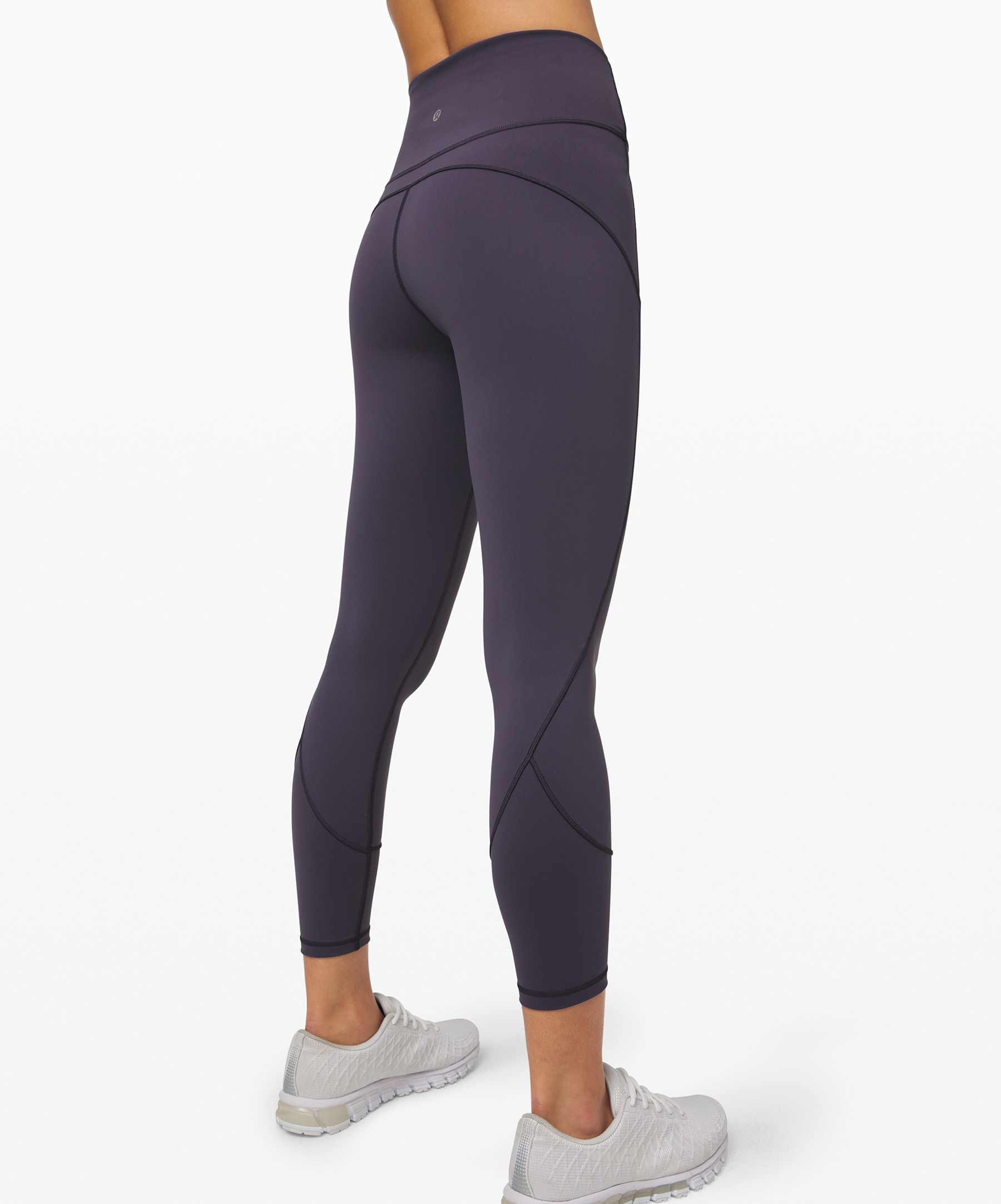 Lululemon Women S In Movement Legging 25 Everlux Moonwalk Size 10 Yoga Pants Lululemon Womens Printed Leggings Yoga Pants Women