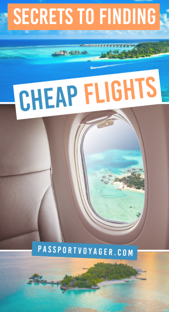 On a budget but still want to see the world? This super helpful guide includes 21 of some of the smartest & most creative secret hacks for finding cheap flights (shared by travel pros!) that will help you plan your trip and book your flights while ALSO saving money. #travel #travelhacks #cheapflights #budgettravel #traveltips #flighthacks #budgethacks