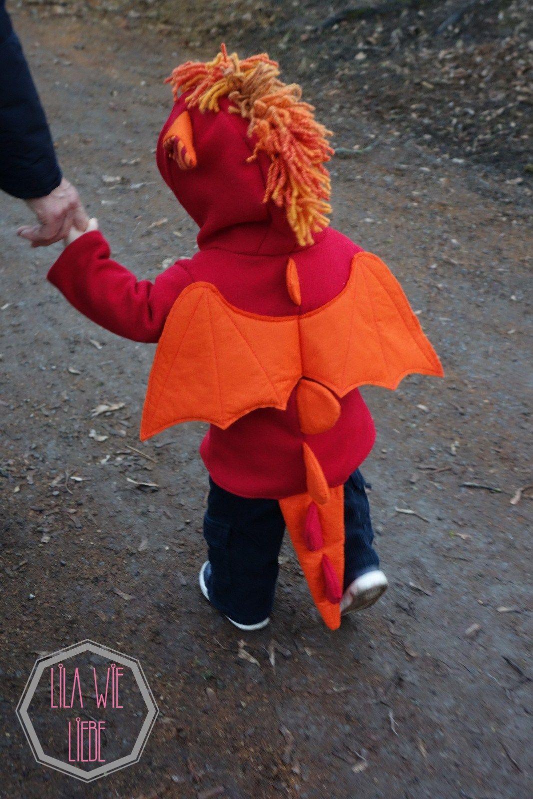 Drachenkostum Fur Kinder Selbst Nahen Kostume Pinterest Nahen