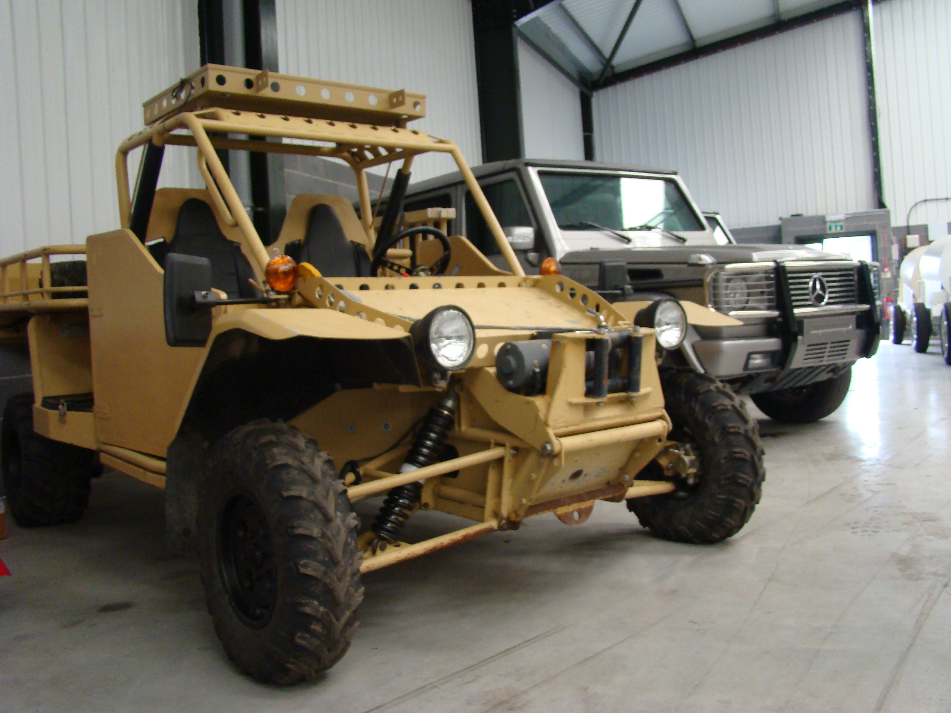 Was sold EPS Springer ATV Armoured Vehicle // used