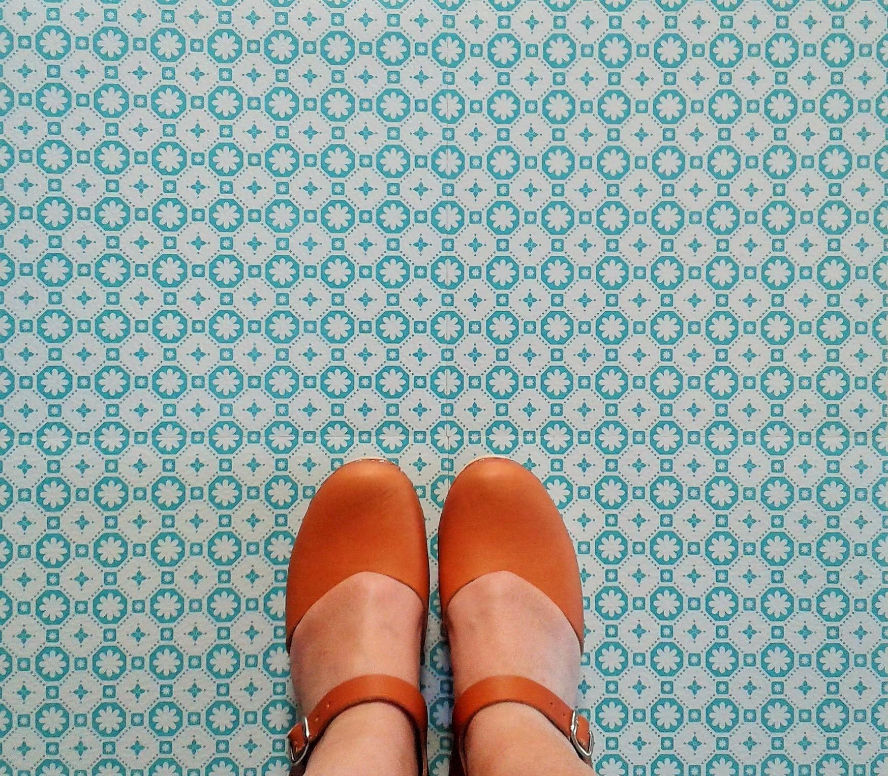 Bali Vinyl Floor Tiles | Pinterest | Retro vinyl flooring, House ...