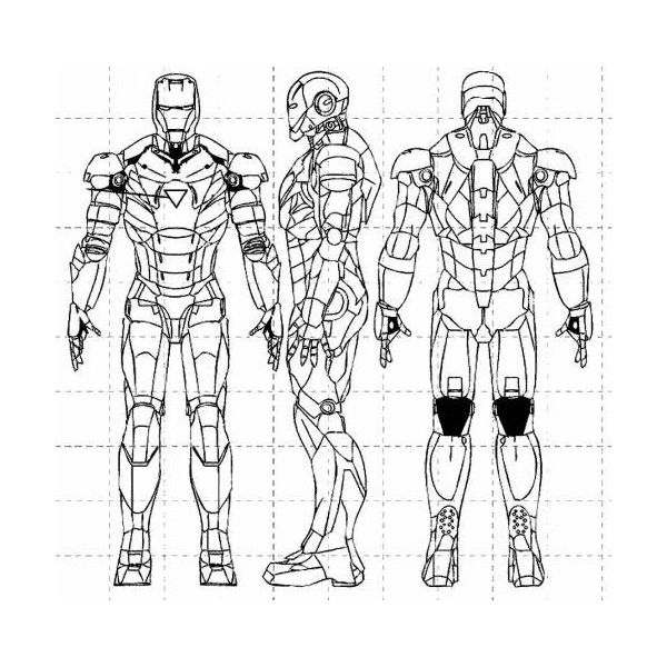 Ironman Blueprint Liked On Polyvore Featuring Avengers And Heroes Iron Man Art Iron Man Suit Iron Man