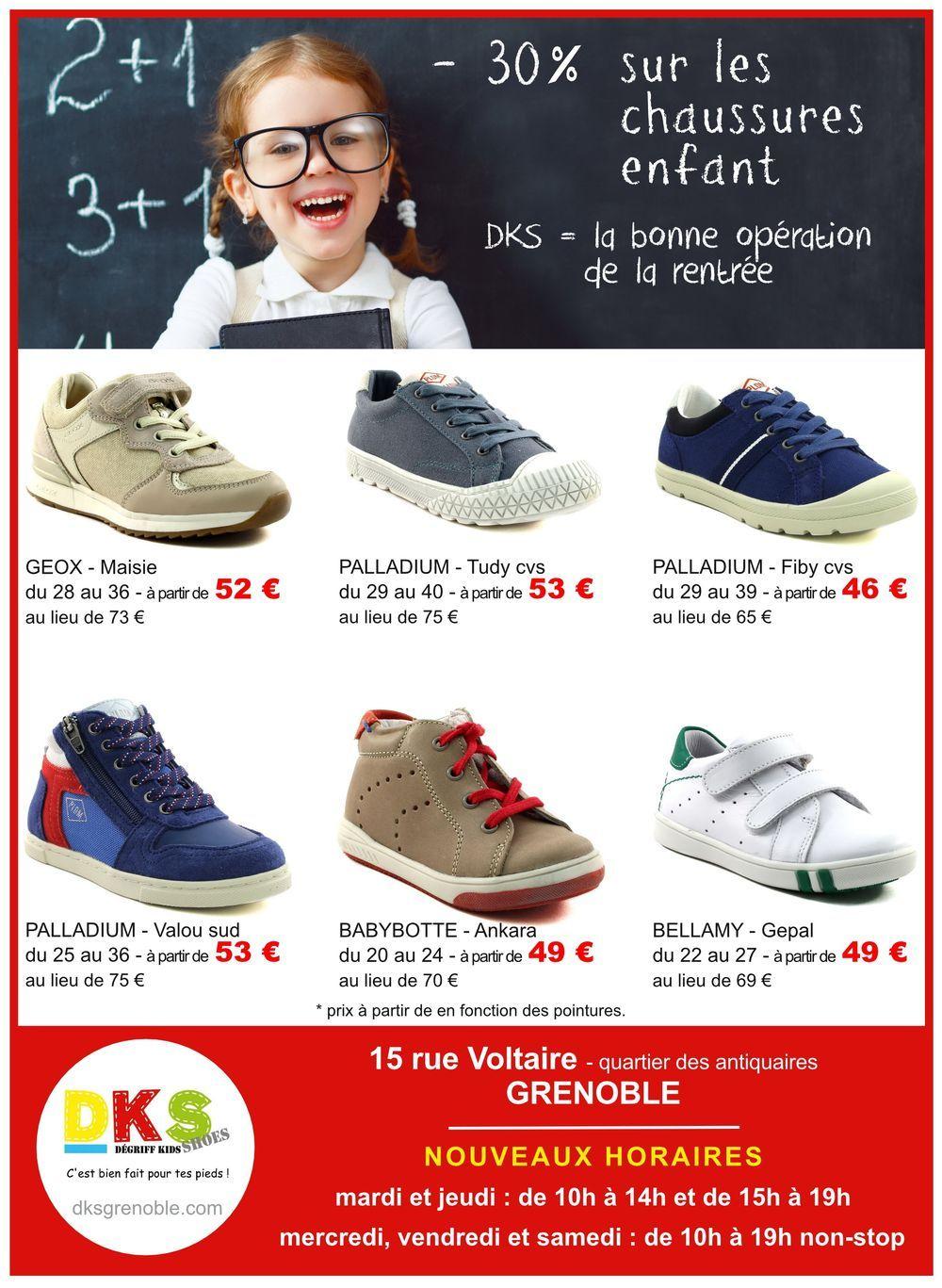 DKS Dégriff Kids Shoes   Chaussure, Chaussures bébé et