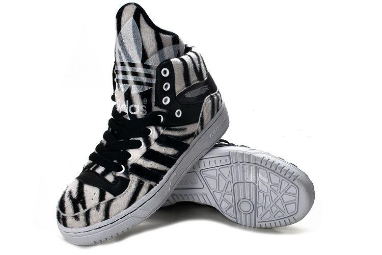 Adidas m atteggiamento logo zebra impronta scarpe adidas m atteggiamento logo