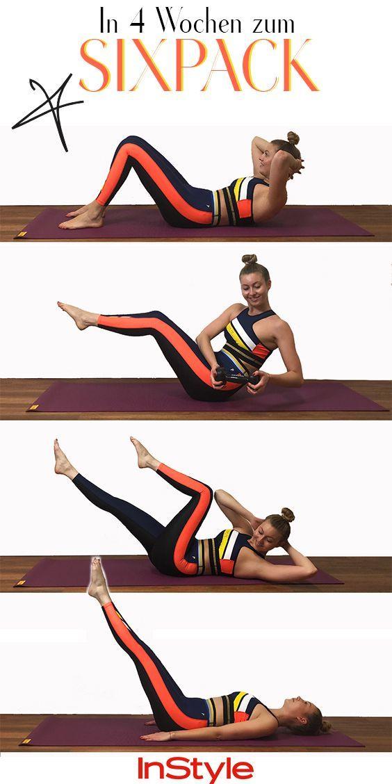 Photo of Sixpack-Challenge: In 4 Wochen zum Sixpack mit diesen Übungen