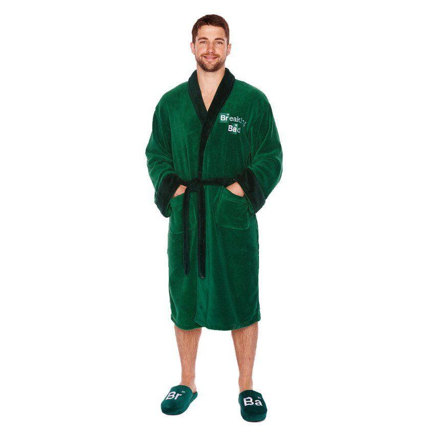 Breaking Bad fleece Bathrobe / Dressing Gown man Heisenberg - £14.99 ...