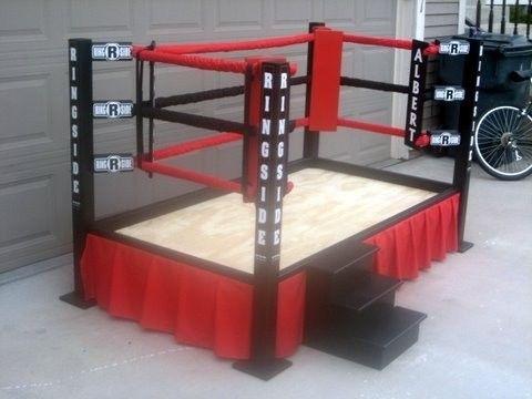 wrestling ring bed with ropes | wrestling wwe bed - kingwood
