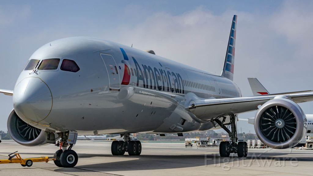 Photo of American Airlines B789 FlightAware American