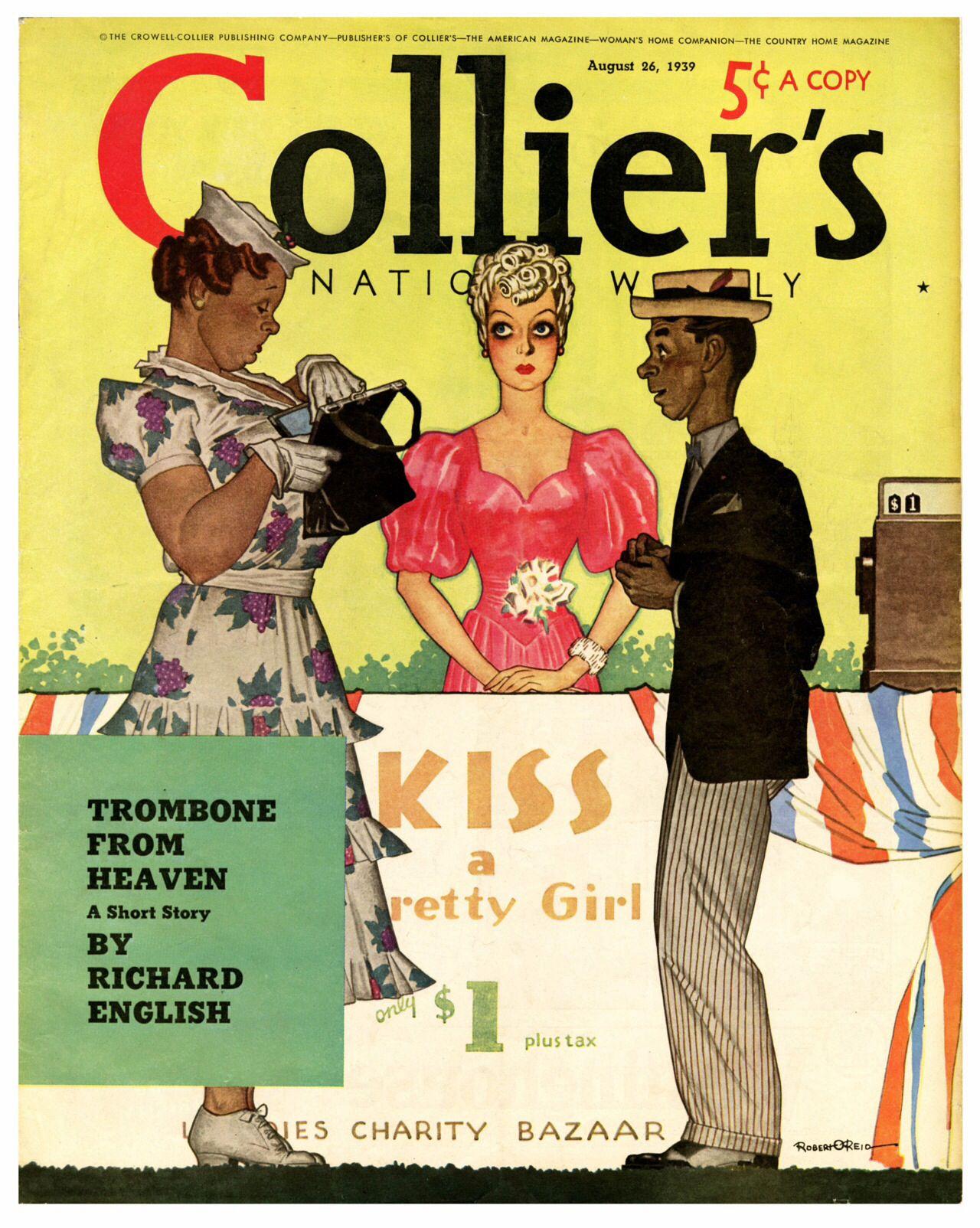 Colliers magazine august 26 1939 robert o reid