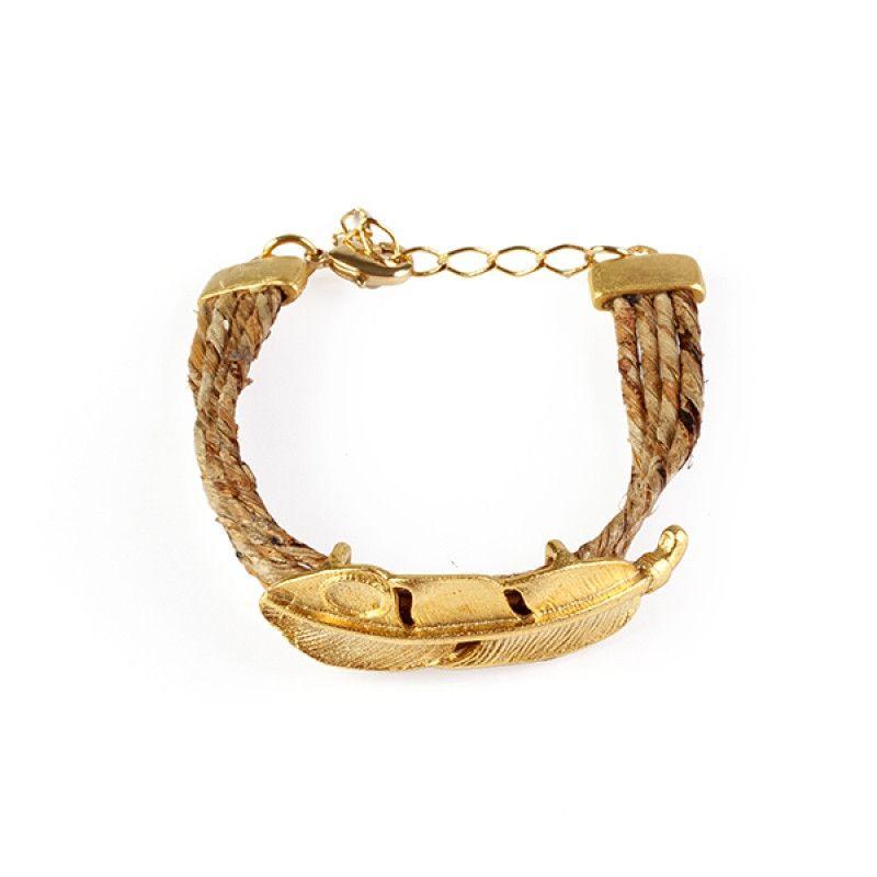 banana leaf bracelet