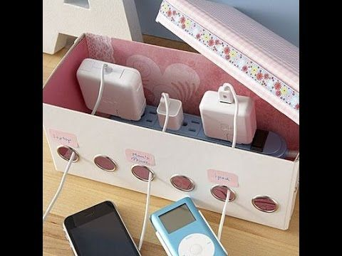 Family Charging Station a simple diy family charging station [bright side] - youtube | diy