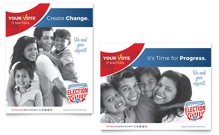Create Election Campaign Marketing Materials That Will Get Out The
