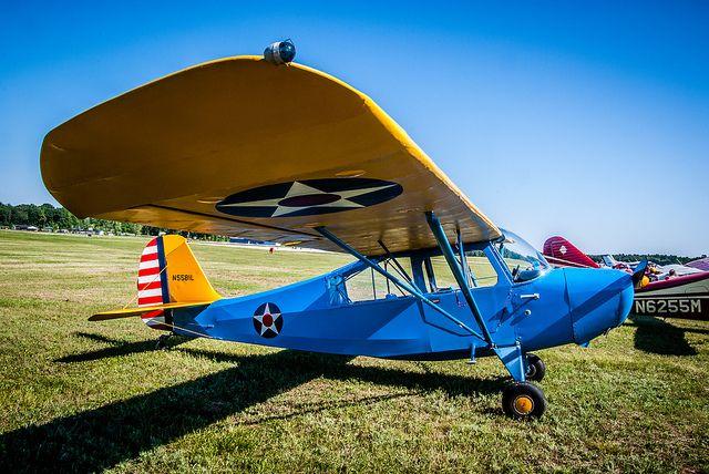 Aeronca 7AC by Midland05, via Flickr