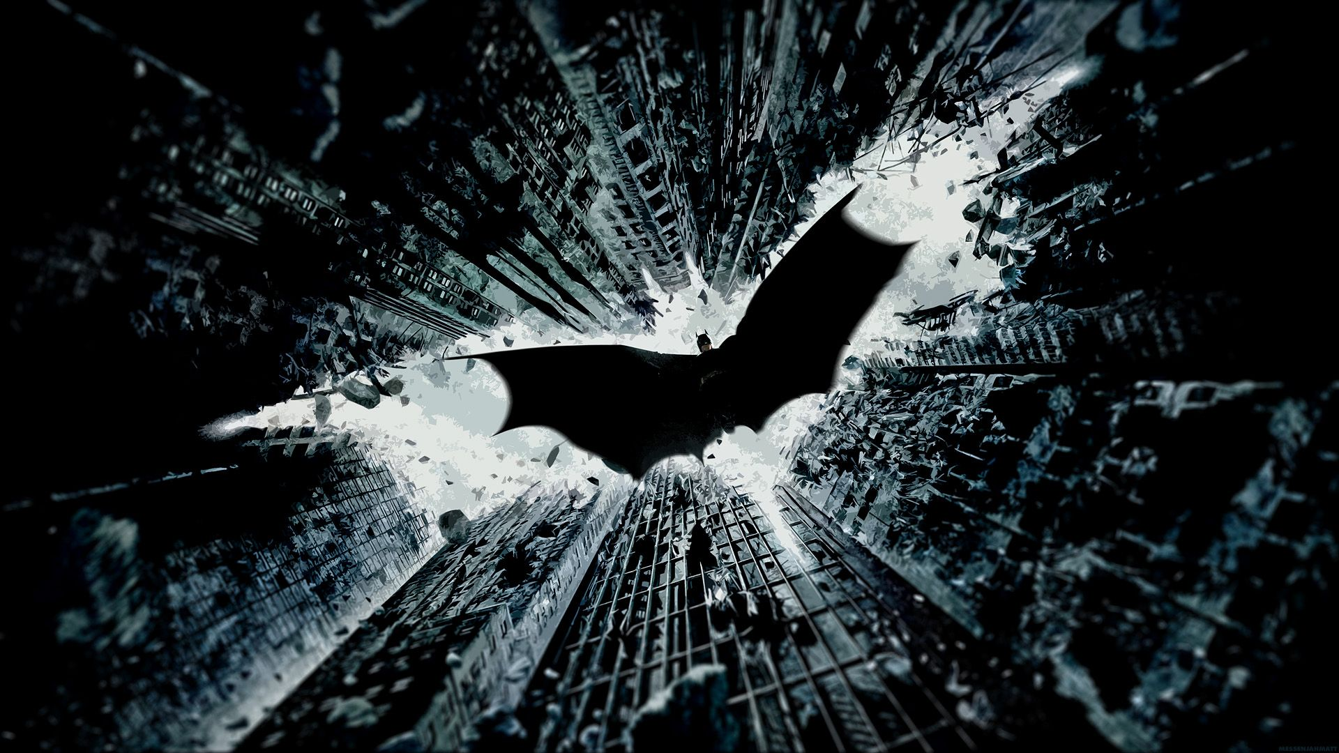 Batman Logo Dark Knight Rises Wallpaper Free Hd Batman Wallpaper