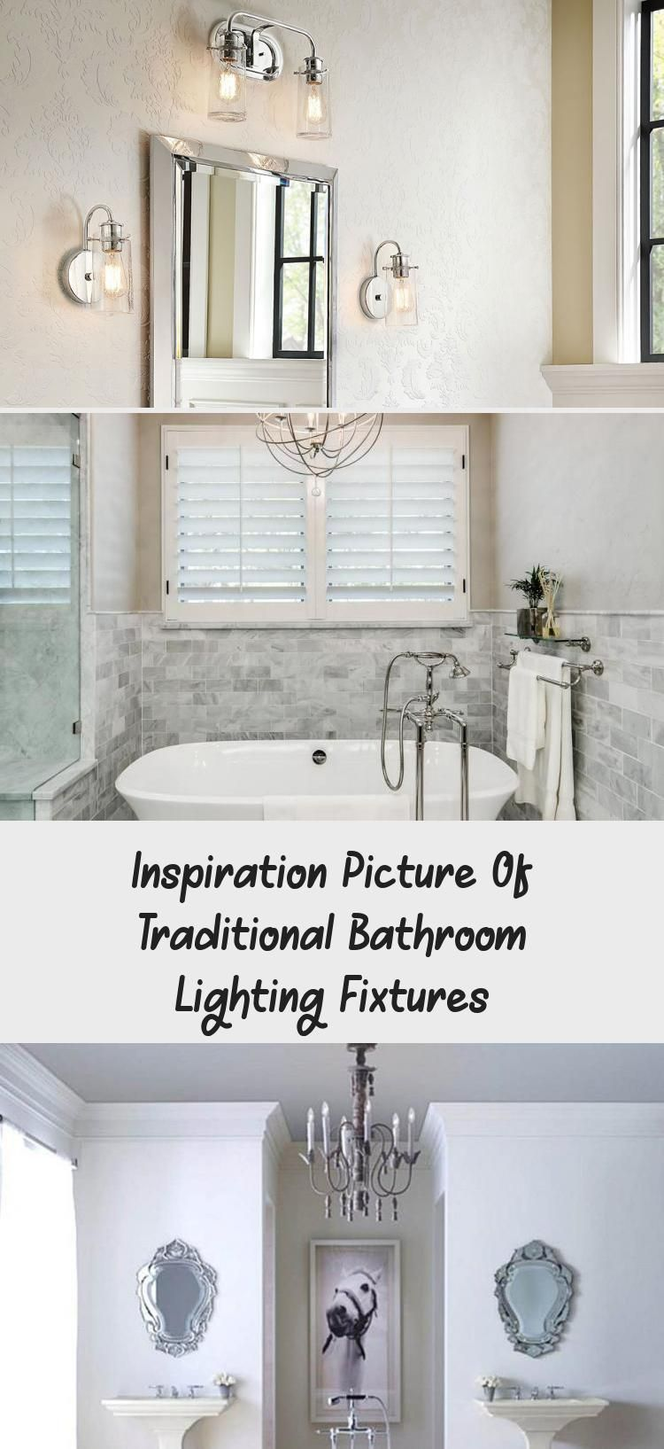 Photo of Inspiration Picture Of Traditional Bathroom Lighting Fixtures – Decorations  Ins…