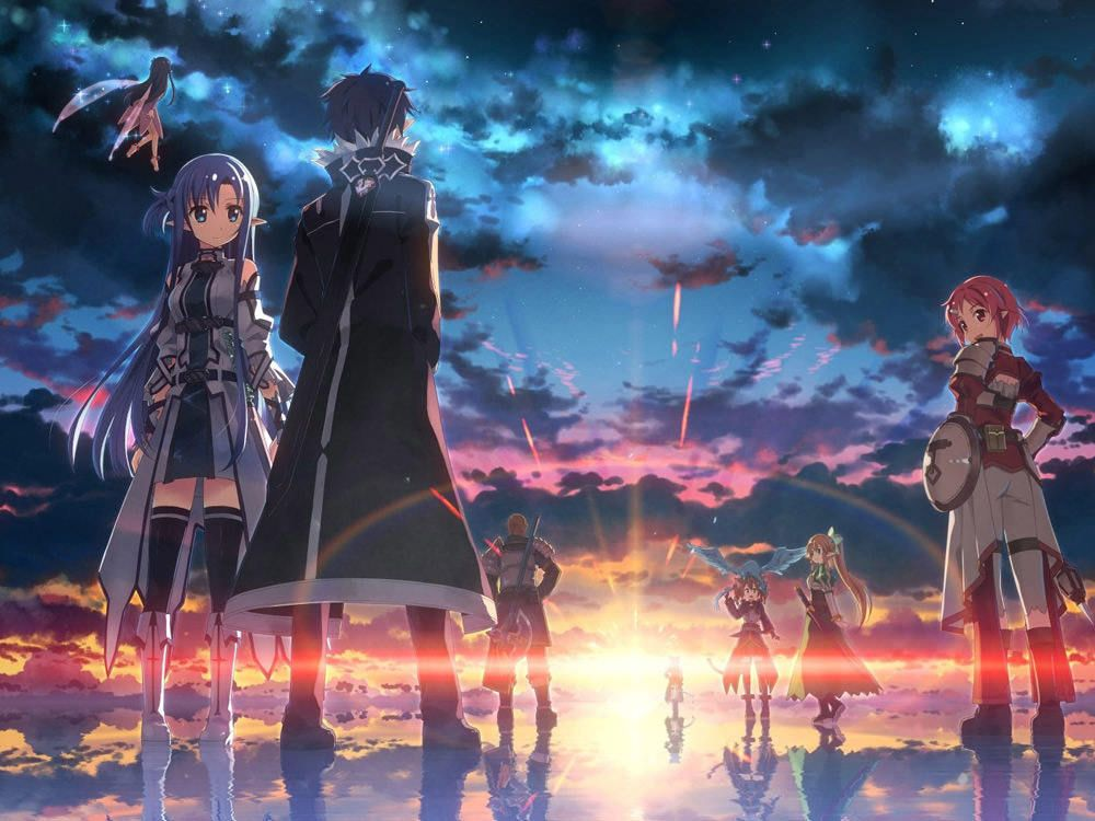 40+ Beautiful Anime and Manga Wallpapers Sword art