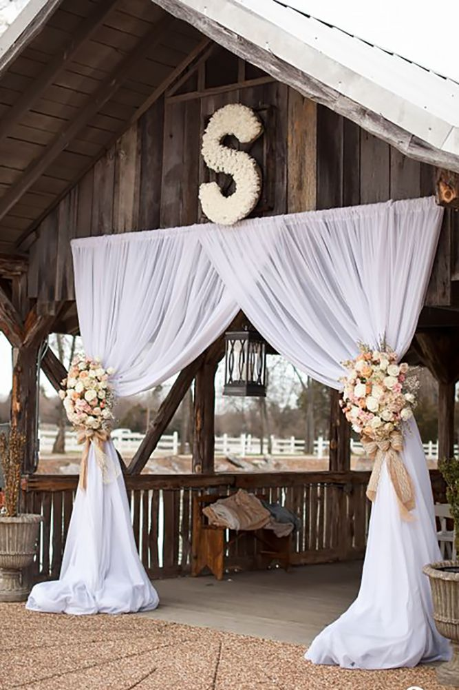 45 Romantic Barn Wedding Decorations Barn Wedding