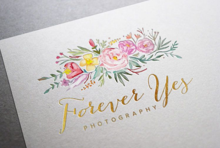 Forever Yes Photography Logo Design
