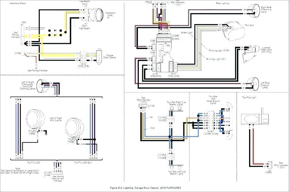 wiring diagram for harley davidson garage door opener  mx
