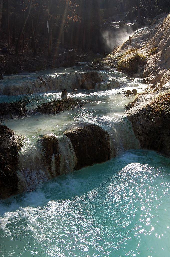 Bagni San Filippo (SI) le calde del Fosso