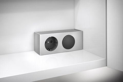 Badezimmer Spiegelschrank Energiebox für Beleuchtung Badmöbelset