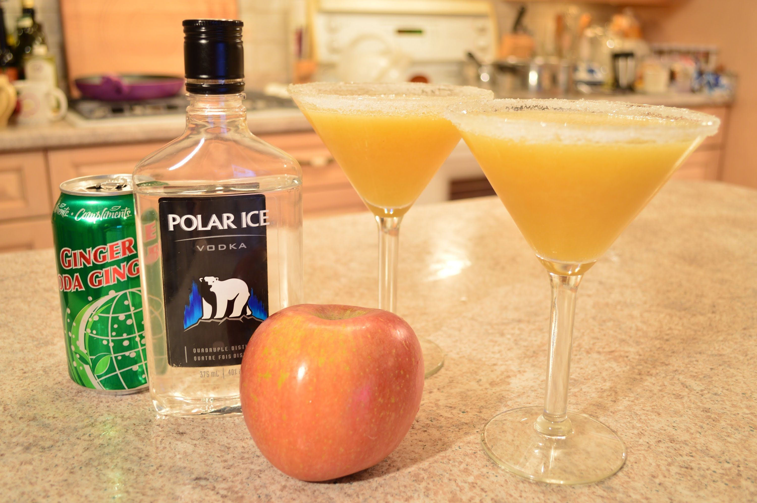 How to Make Apple Guava Fizz Cocktails: Cooking with Kimberly