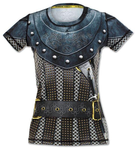 5cfb3aed997089 Women's Medieval Tech Shirt | INKnBURN | Women, Shirts, Medieval