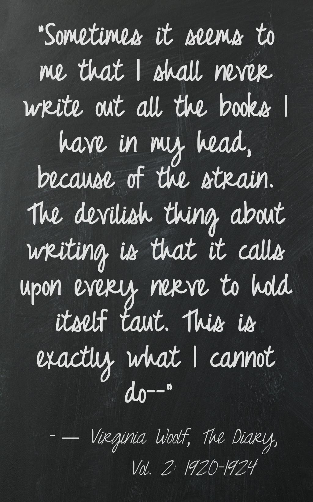 Virginia Woolf Biography