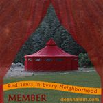 Be part of the phenomena of the Red Tent: a grassroots