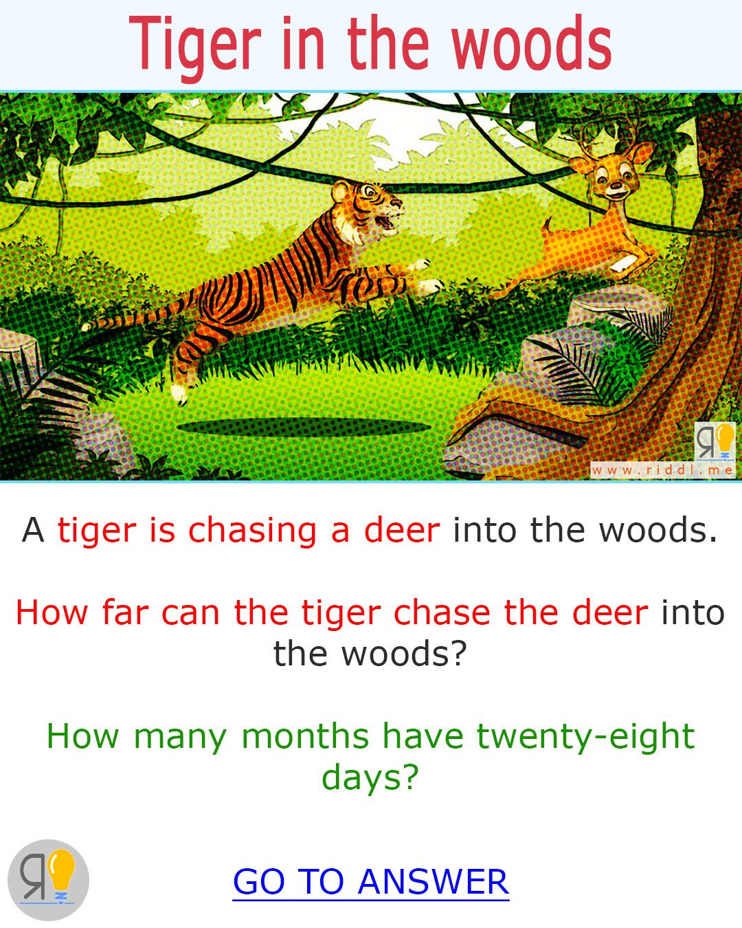 For all you riddle games fans. Here's a riddle for kids