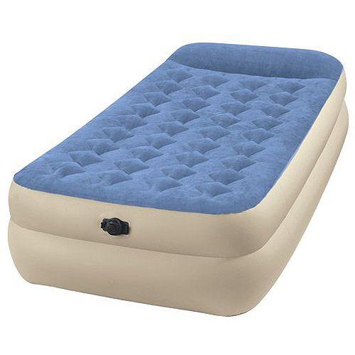 Intex Twin 18 Quot Raised Pillow Rest Airbed Mattress