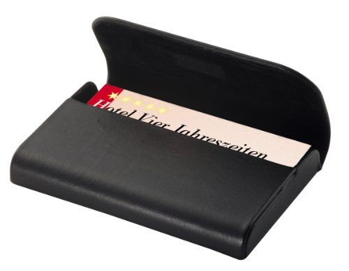 Sigel Vz270 Visitenkarten Etui Kartenetui Für 25 Karten Aus