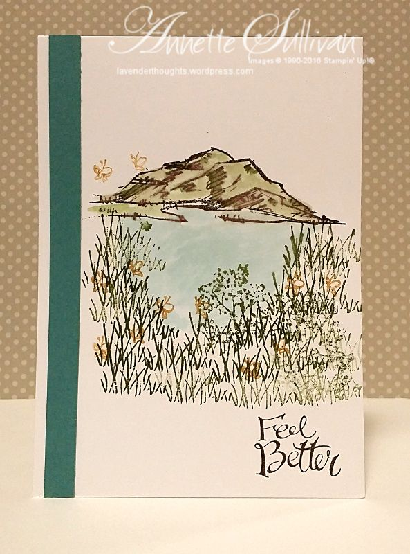 In The Meadow Lost Lagoon Get Well Cards Nature Card Stamping Up Cards