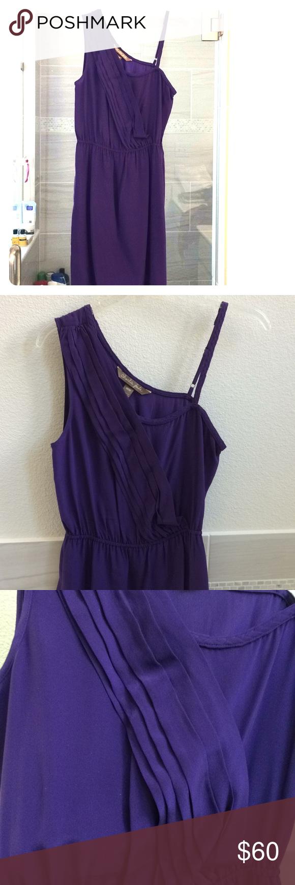 Charlie jade purple silk dress my posh picks pinterest silk